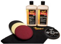 MEGUIARS Mirror Glaze Soft Buff Kit 140
