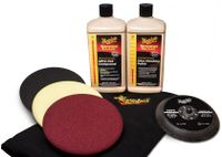 MEGUIARS Mirror Glaze Soft Buff Kit 159