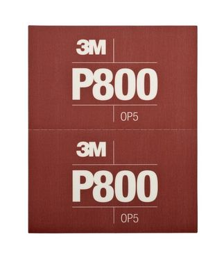 3M Ruční brusný arch P800 34340