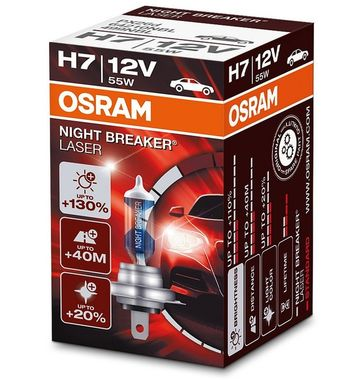 OSRAM Night Breaker Laser H7 64210NBL