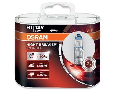 OSRAM Night Breaker Unlimited H1 64150NBU-HCB